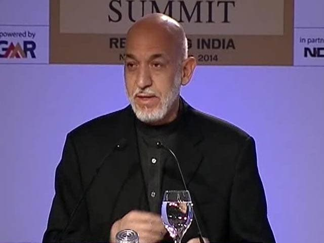 "Video : ""Obama Was Silent on Pak Terror Havens,"" Says Hamid Karzai"