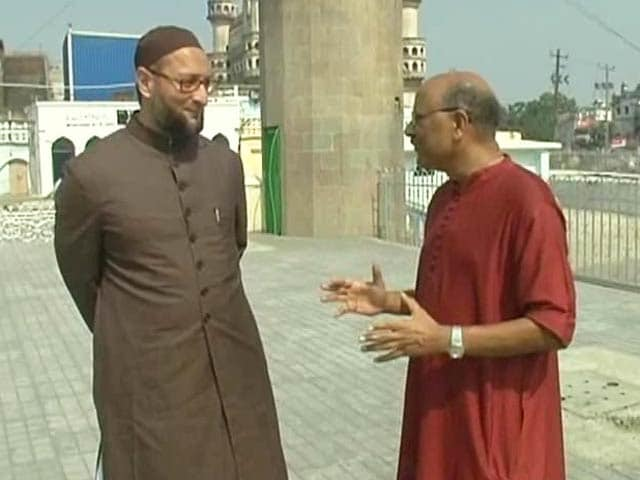 Video : Walk The Talk with Asaduddin Owaisi