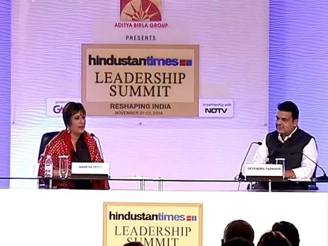 "Video : ""No Going Soft on NCP Corruption, Watch in Two Months"": Devendra Fadnavis"