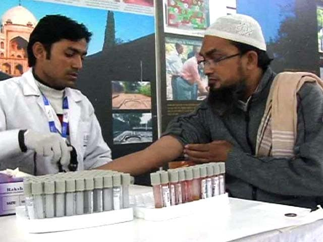 Video : NDTV-Fortis Health4U: Free Blood Glucose Tests Across the Nation