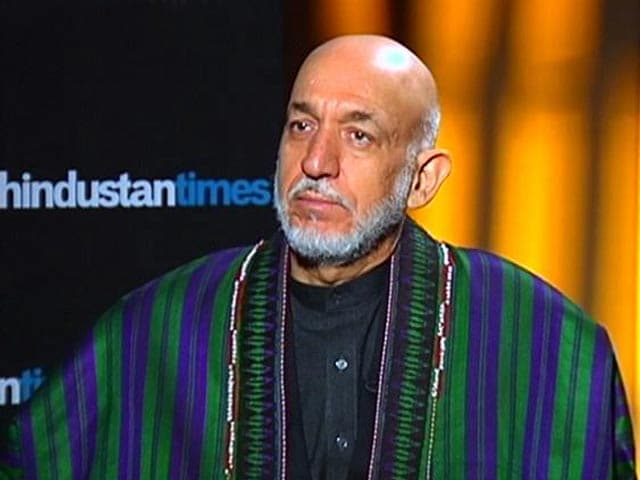Video : Pakistan Can't Have Good And Bad Snakes: Hamid Karzai to NDTV
