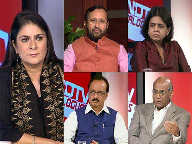Video : The NDTV Dialogues: Climate Change And Its Impact