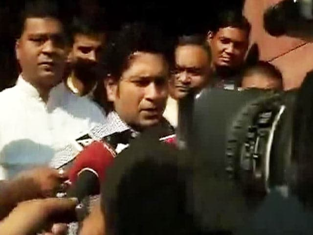 Video : Sachin Tendulkar Steers Clear of IPL Controversy; Court Hearing Today