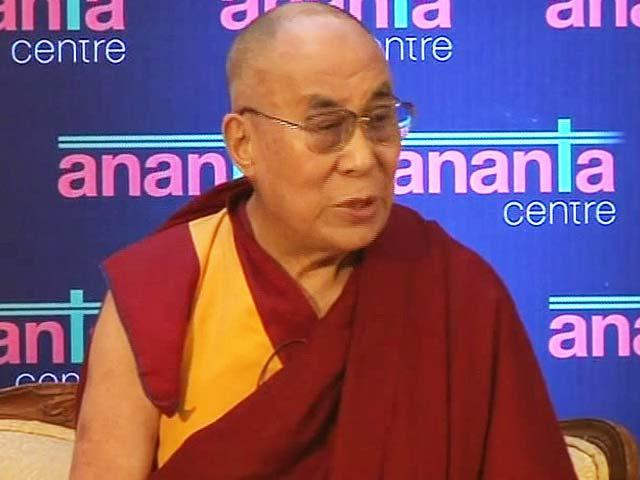 """Video : We Need """"One-ness of 7 Billion People"""": Dalai Lama"""