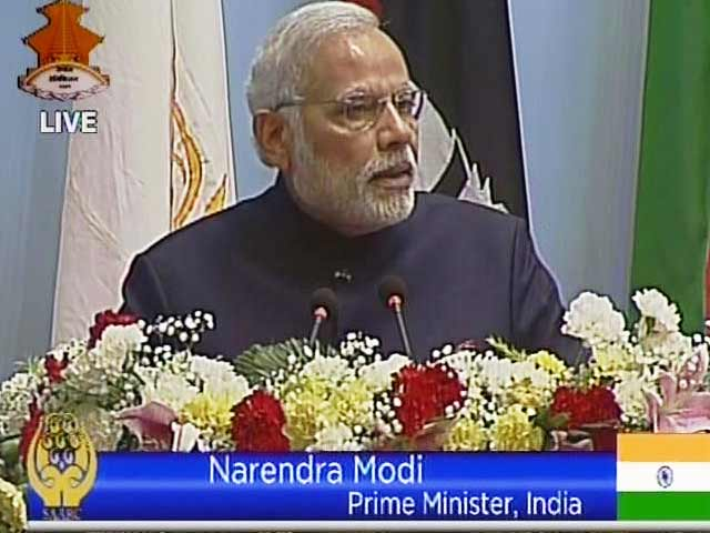 Video : India Has to Lead, it Will Do Its Part: PM Narendra Modi at SAARC