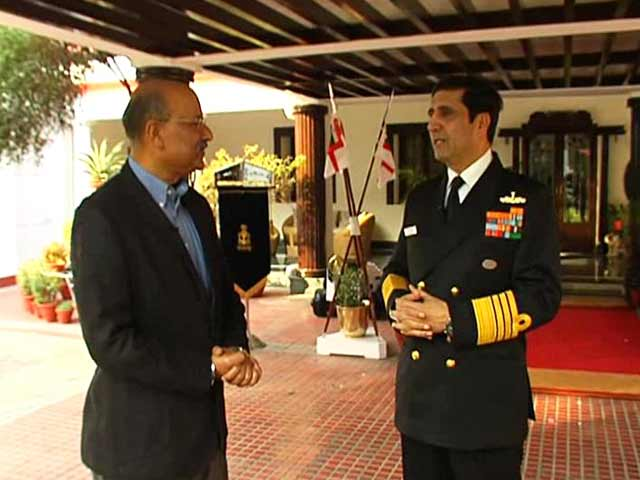Video : 26/11 Forced Us to Retrain Commandos, Says Navy Chief RK Dhowan