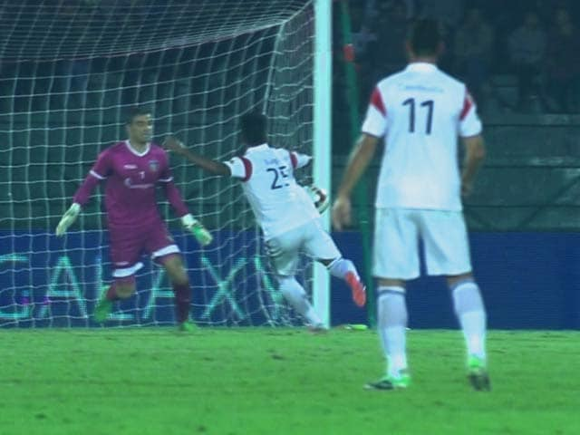 Video : ISL: NorthEast United Crush Table-Toppers Chennaiyin FC