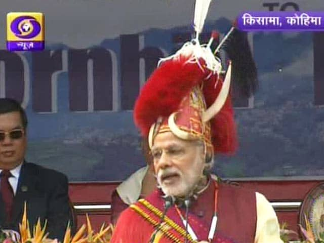 Video : 'Nagaland's Biodiversity Should be Protected': PM Narendra Modi at Hornbill Festival