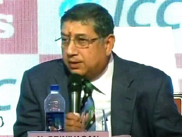 Video : Indian Cricket's Image Not Tarnished, I Acted Against Guilty: N Srinivasan