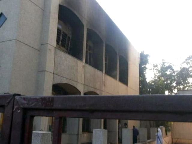 Video : Church Gutted in East Delhi, Police Say Arson
