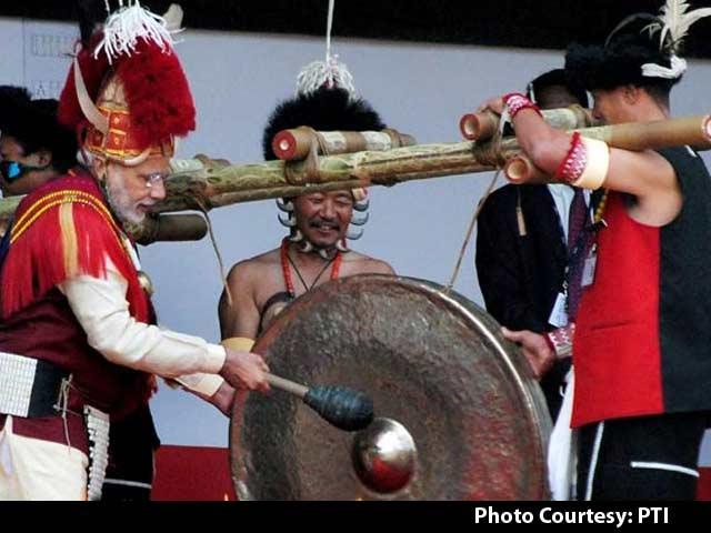 Video : PM Modi Inaugurates Hornbill Festival in Nagaland