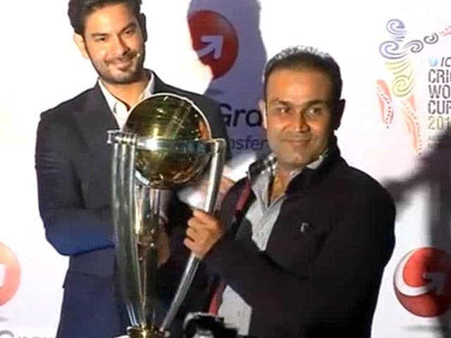 Video : Team India Good Enough to Defend World Cup Title in 2015: Virender Sehwag