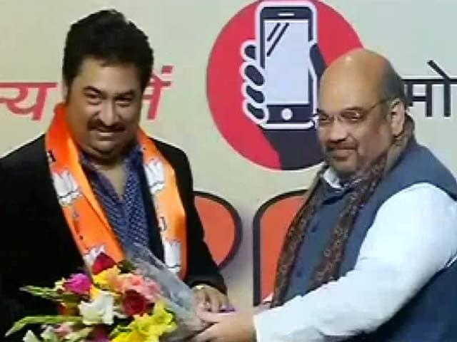 Videos : बीजेपी में फिर शामिल हुए कुमार शानू