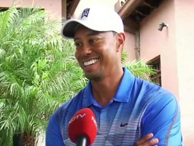 Video : Lot of Fun to Play Golf in India, Love the Enthusiasm: Tiger Woods