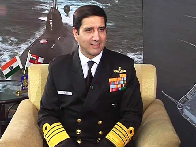Video : Chinese Activity Has Increased Exponentially in Indian Ocean: Navy Chief to NDTV