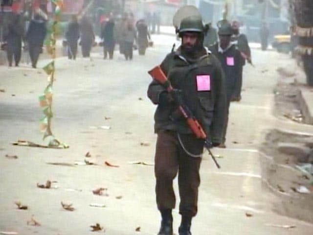 Video : Srinagar Under Security Blanket for PM Modi's Rally Today