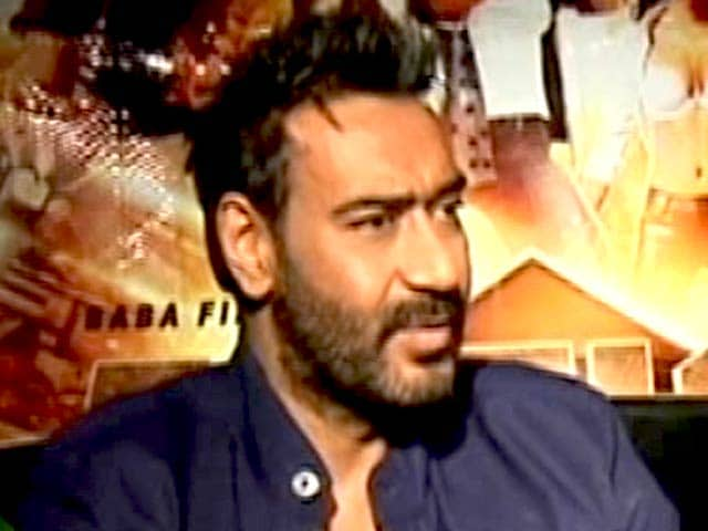 Video : Ajay Devgan: It's Good That the Swachh India Movement is Gaining Momentum