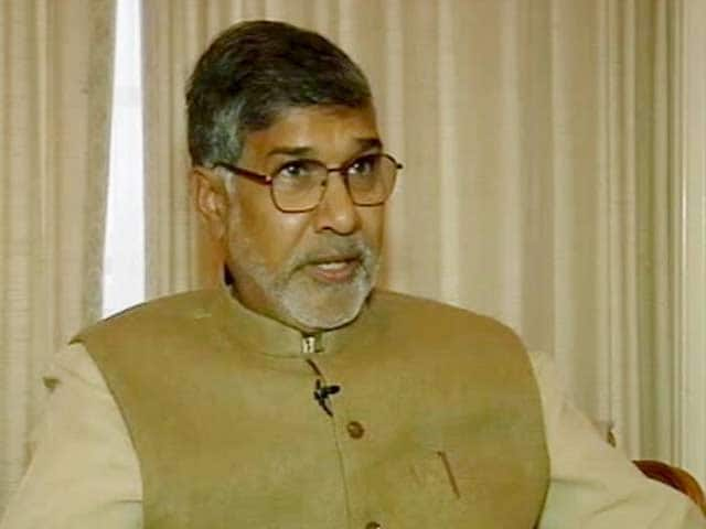 Video : My Nobel Prize Important to Every Child Who is Deprived: Kailash Satyarthi to NDTV