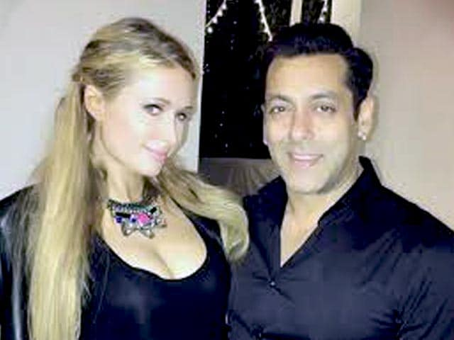 Salman Khan Parties With Paris Hilton