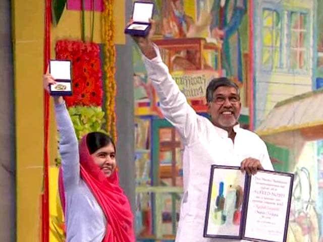 Videos : सत्यार्थी और मलाला को मिला नोबेल शांति पुरस्कार