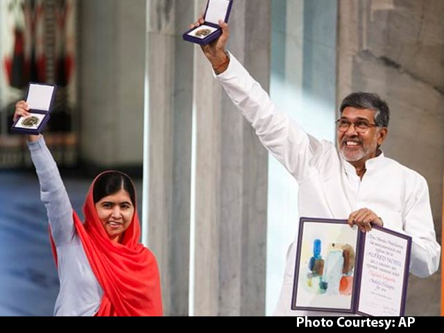Video : Nobel Glory for Kailash Satyarthi and Malala Yousafzai