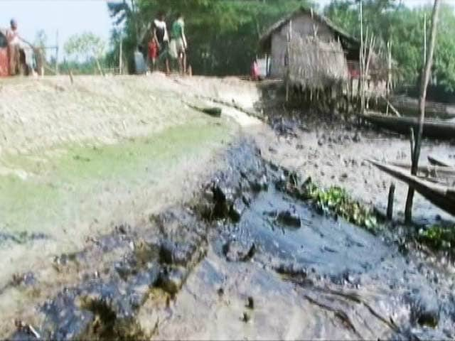 Video : 3,50,000 Litres of Oil Spills in River as Tanker Sinks in Sunderbans