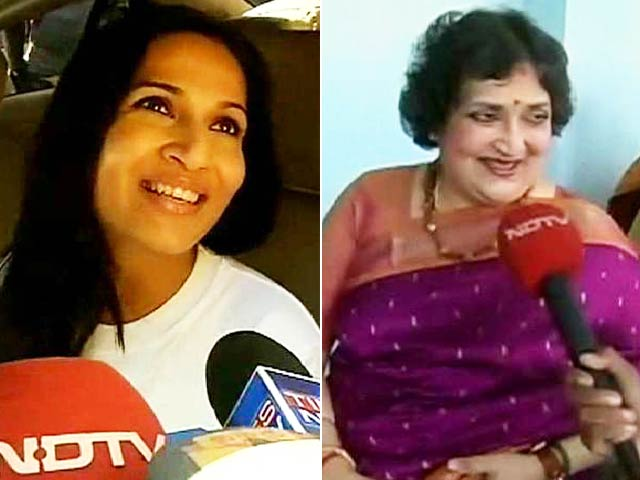 Video : Rajinikanth's Wife Latha and Daughter Aishwaryaa on <i>Lingaa</i>