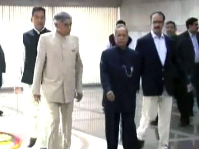 Video : राष्ट्रपति प्रणब मुखर्जी की एंजियोप्लास्टी हुई