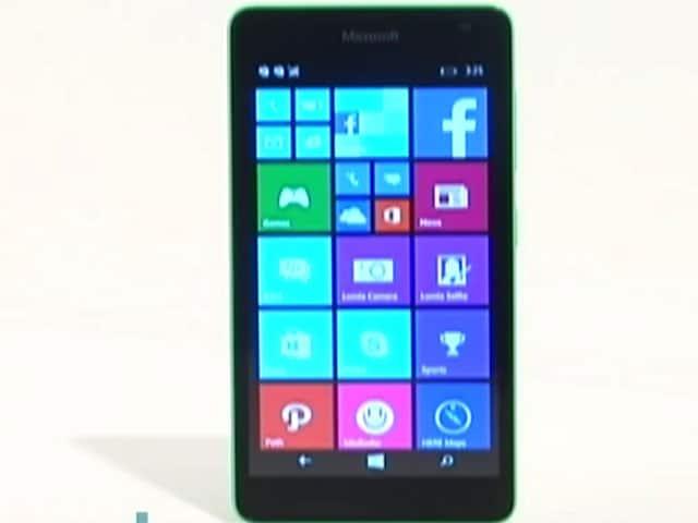 Video : Microsoft Lumia 535: First Lumia Sans Nokia