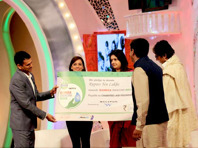 Video : Welspun Renewables Donates Rs.10 Lakh For a Cleaner India