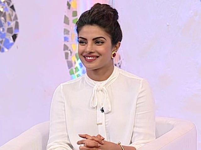 Thank You for Taking My Nomination So Seriously: Priyanka Chopra tells NDTV
