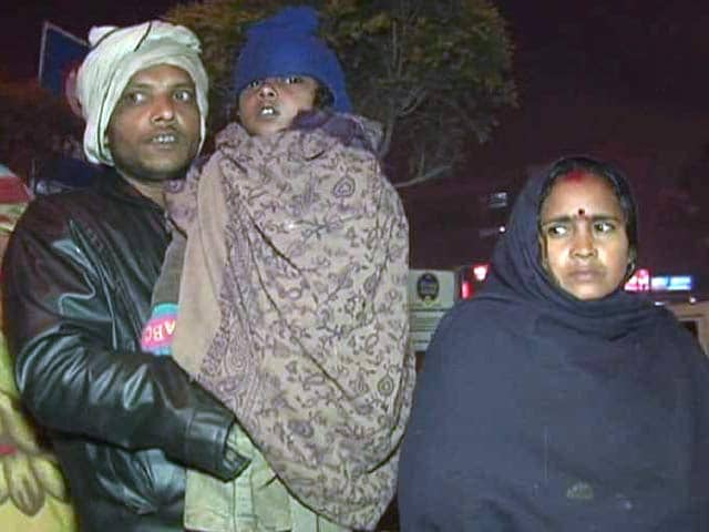 Video : 5-Year-Old Heart Patient Waits Out In The Delhi Cold