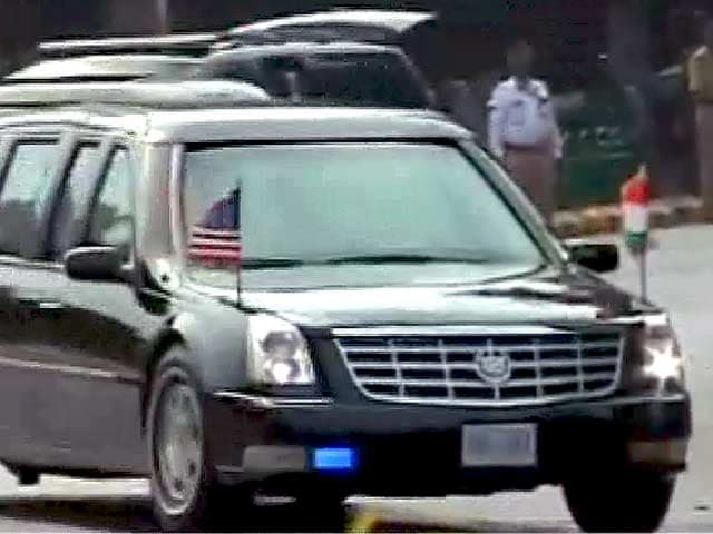 Videos : भारत यात्रा पर अपनी गाड़ी में सफ़र नहीं करेंगे ओबामा