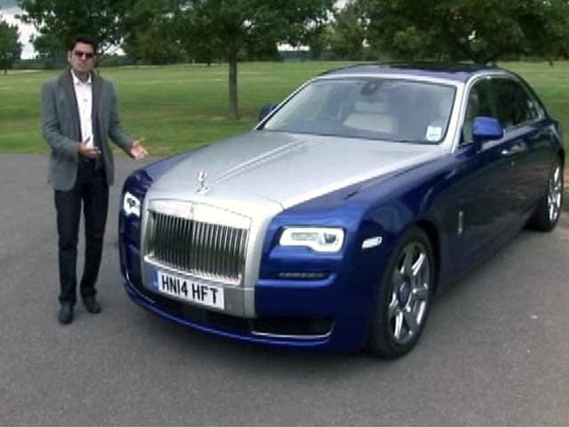 Rolls Royce Ghost Price In India Images Mileage