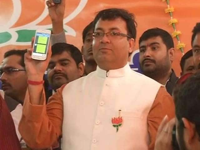 Video : Congress Leader Sanjay Singh's Son Joins BJP, Says Will Fight Elections From Amethi if Given Ticket