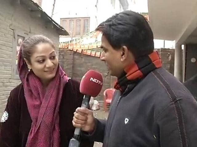 Video : Jammu and Kashmir Election Results: 'BJP has Won People's Hearts,' Says Hina Bhat