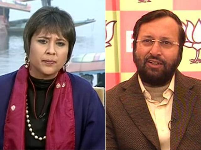 Video : This Was a Semi-Final for Valley, Says BJP's Prakash Javadekar