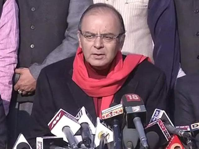 Video : What Next For BJP in J&K? National Leaders to Decide, Says Arun Jaitley