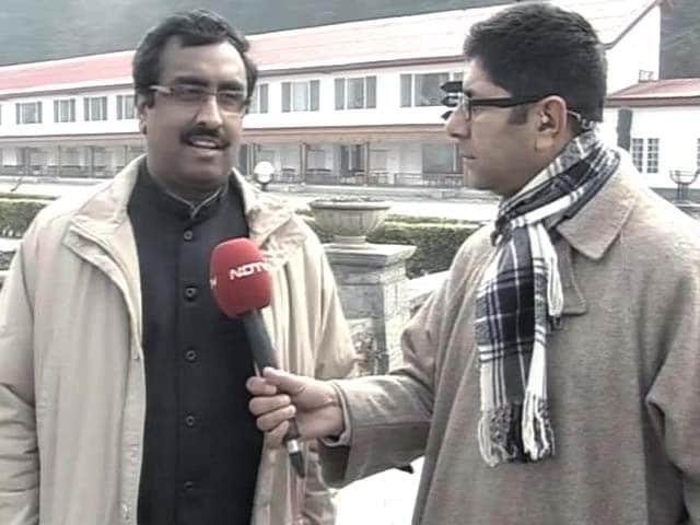 Video : Speaking to All Stakeholders in Jammu and Kashmir, Says BJP's Ram Madhav