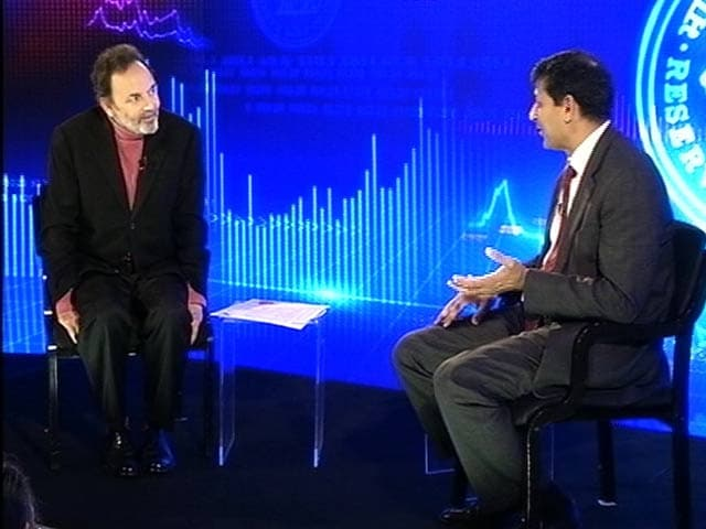 Video : Indian Stock Markets Not in a Bubble: Raghuram Rajan to NDTV's Prannoy Roy