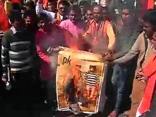 Videos : आमिर की फिल्म 'पीके' के खिलाफ कई जगह प्रदर्शन