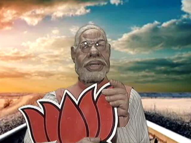 Video : PM Modi as <i>PK</i> in a Trailer Spoof
