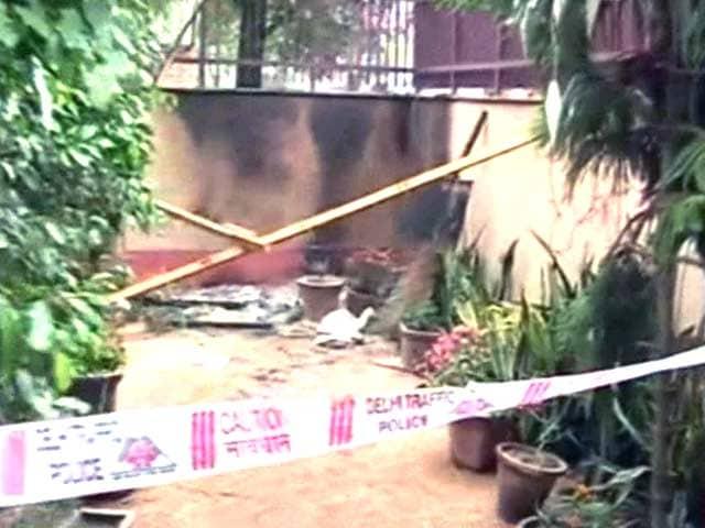 Video : Fire at Church in Delhi's Rohini, Investigation Underway