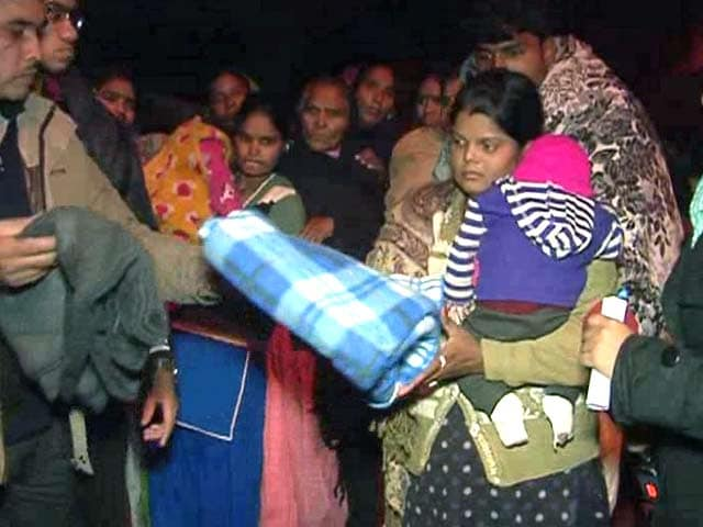 Video : 'Blanket Drive' for the Homeless - An NDTV and Uday Foundation Effort