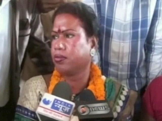 Video : छत्तीसगढ़ के रायगढ़ में मधु किन्नर बनीं मेयर