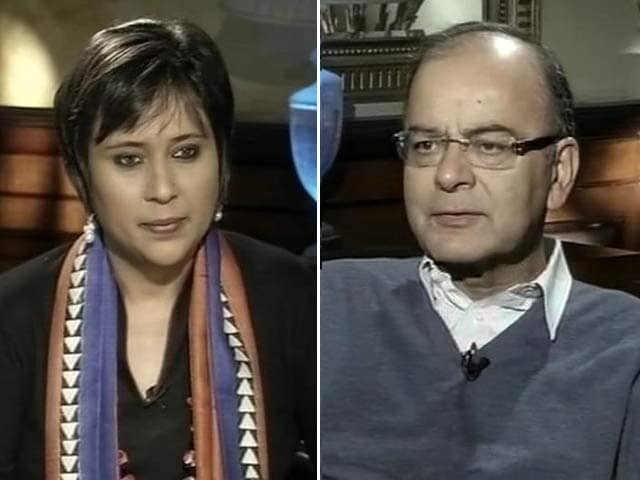 Video : 'Focus is Development, Hijacked Headlines A Concern': Finance Minister Arun Jaitley on Hindutva Controversies