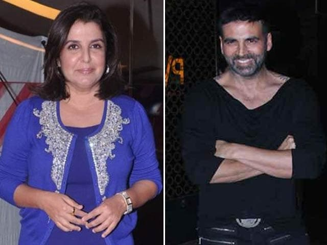 No Praise From Akshay For Farah Khan