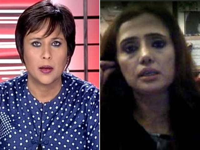Video : I am Very Angry; Do I Look Like an ISI Agent: Mehr Tarar on the Sunanda Pushkar Case