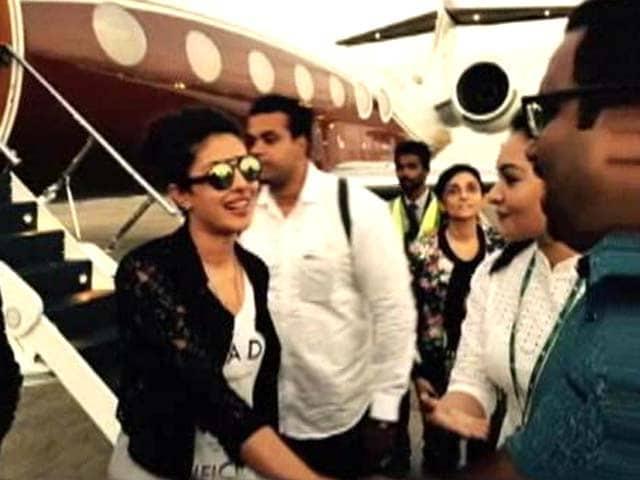 Video : When Priyanka Chopra Was Rescued by the Coast Guard in Maldives