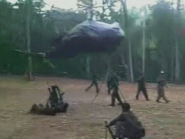 Video : Video Shows Naxals Training to Gun Down Air Force Helicopters: Report